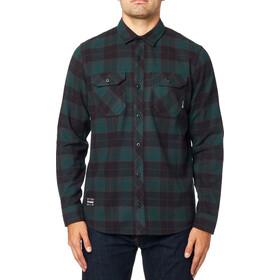 Fox Traildust 2.0 Camisa Franela Manga Larga Hombre, emerald